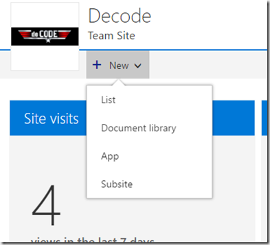 Office 365 new SharePoint Sites page and new Site Contents Page ...