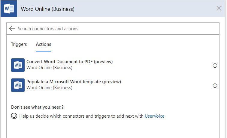 Print (or not) from any SharePoint list using Microsoft Flow
